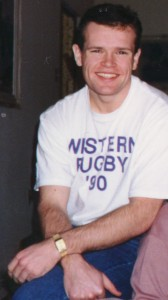 Still looking sick from the mono I got at Western in 1990. I was 174lbs here and look like I could use a hot meal...