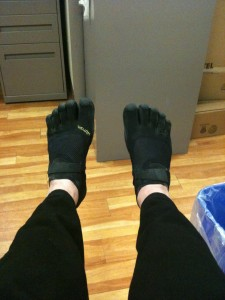 Something Beats Nothing Every Time » Vibram Five Fingers KSO – My