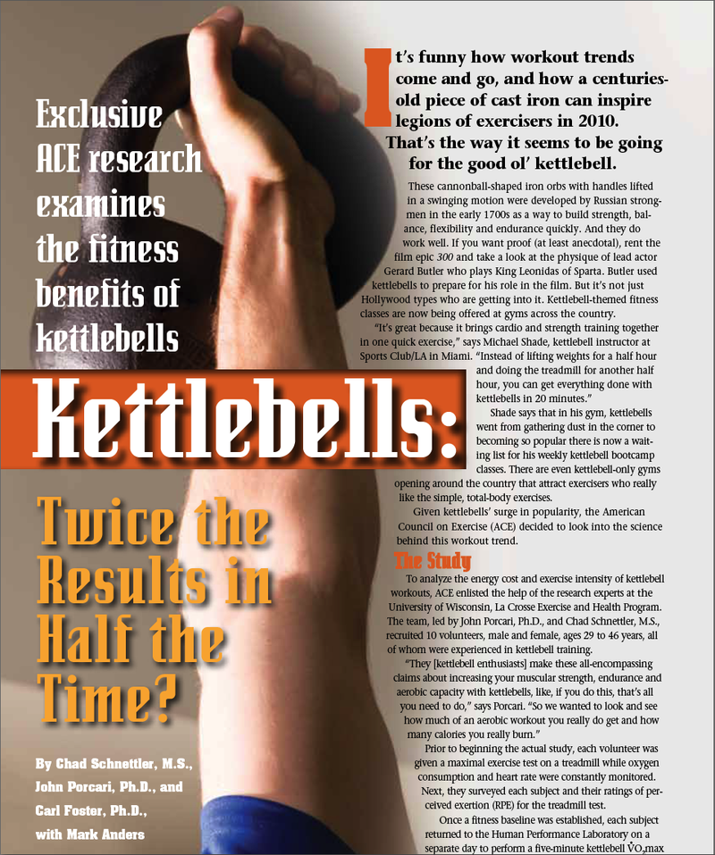 Something Beats Nothing Every Time » Cardio and Kettlebells  Don't