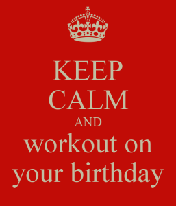 birthday workout