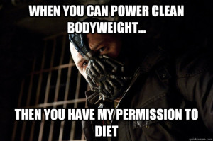 clean body weight