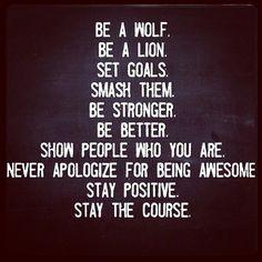 wolf goals